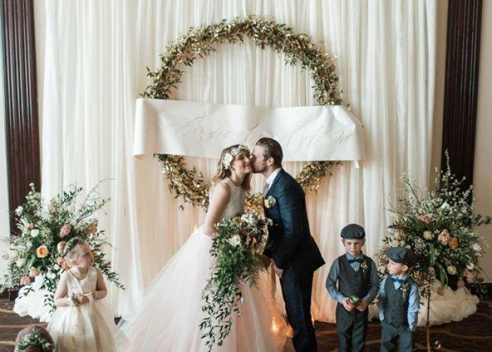 Enchanted garden wedding ideas also kiss photo and