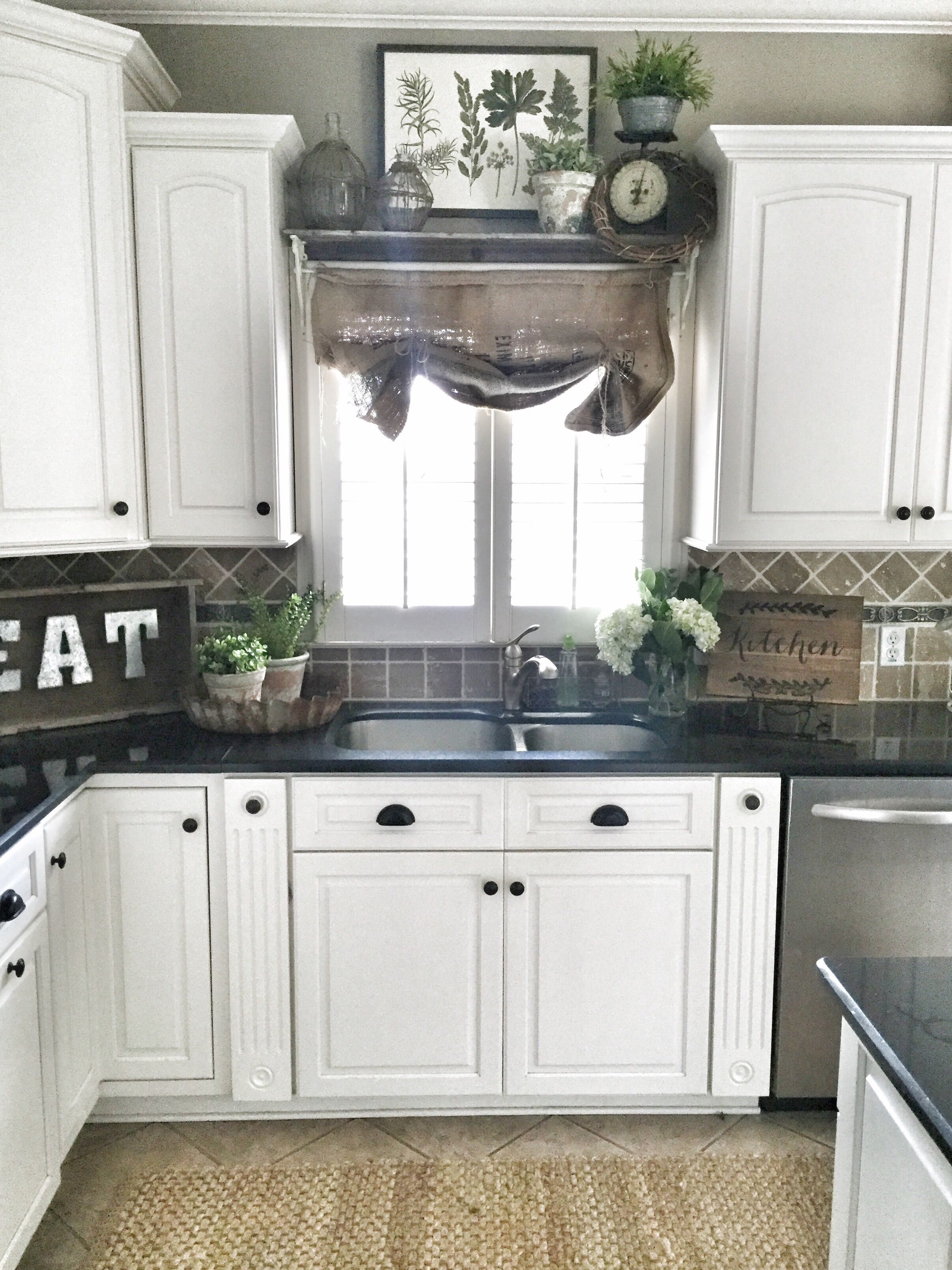 farmhouse kitchen cabinets folding tables decor shelf over sink in diy