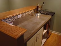 Basement Bar Top Ideas