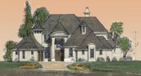chateau style via: Small luxury homes, house plan ...