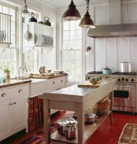 small farmhouse kitchens | Small farm kitchen - Interior ...