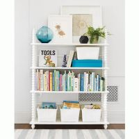 Jenny Lind White Bookcase | Jenny lind, Kids bookcase and ...