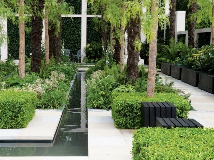 blumenbeet modern – actof, Hause und Garten