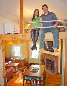 These guys downsized from having sq ft to owning their own cabin also rh dk pinterest