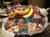 Welcome Basket for out of town guests | Gifts | Pinterest ...