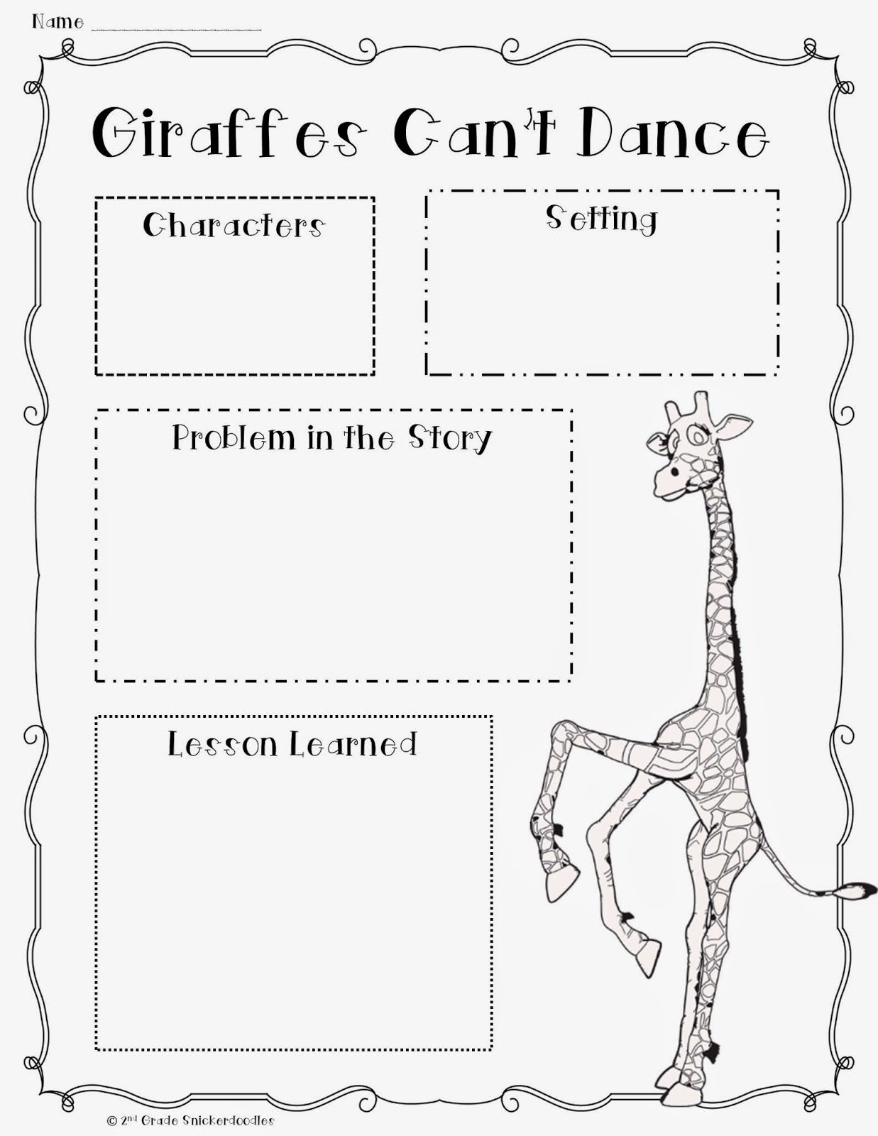 I Love To Start Out The School Year By Reading Giraffes
