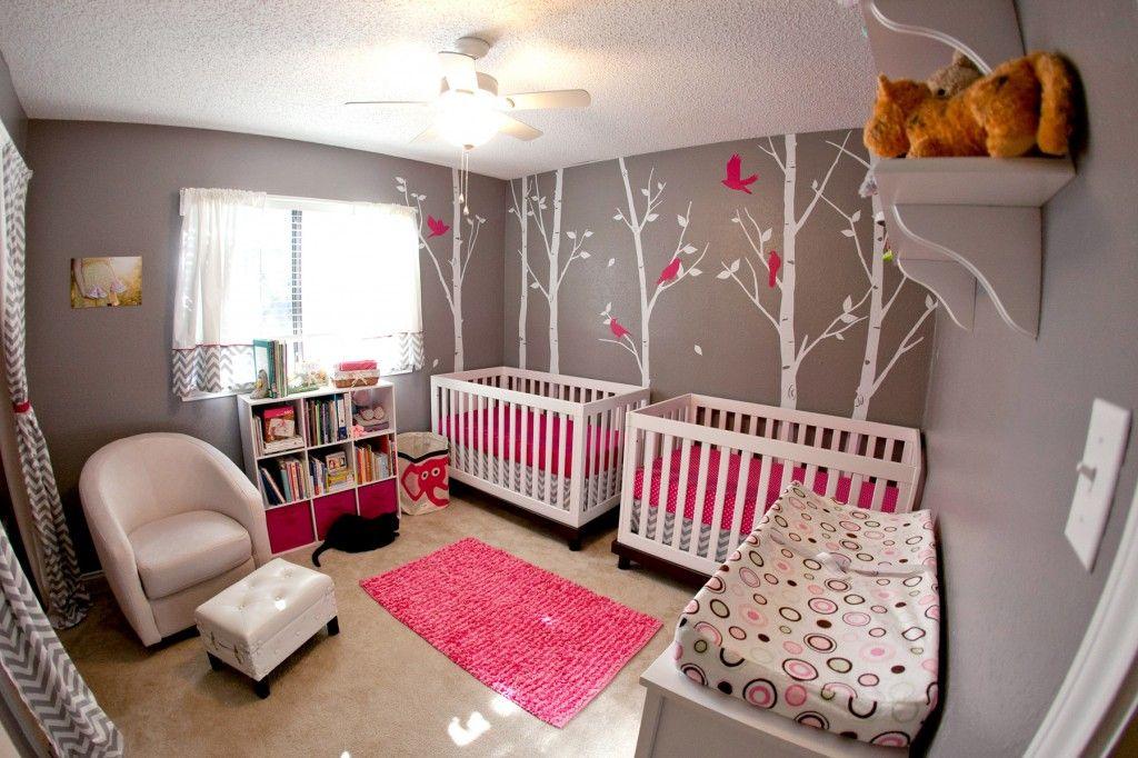 Nursery Tour : A Modern Twist for Twins
