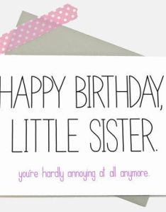 Homemade Birthday Card Ideas For Little Sister Card Dealsreview Co