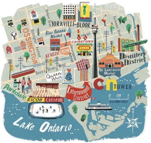 Best 25 Toronto canada map ideas on Pinterest Visit