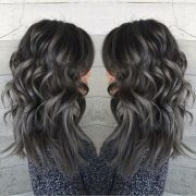 pewter and charcoal hair color