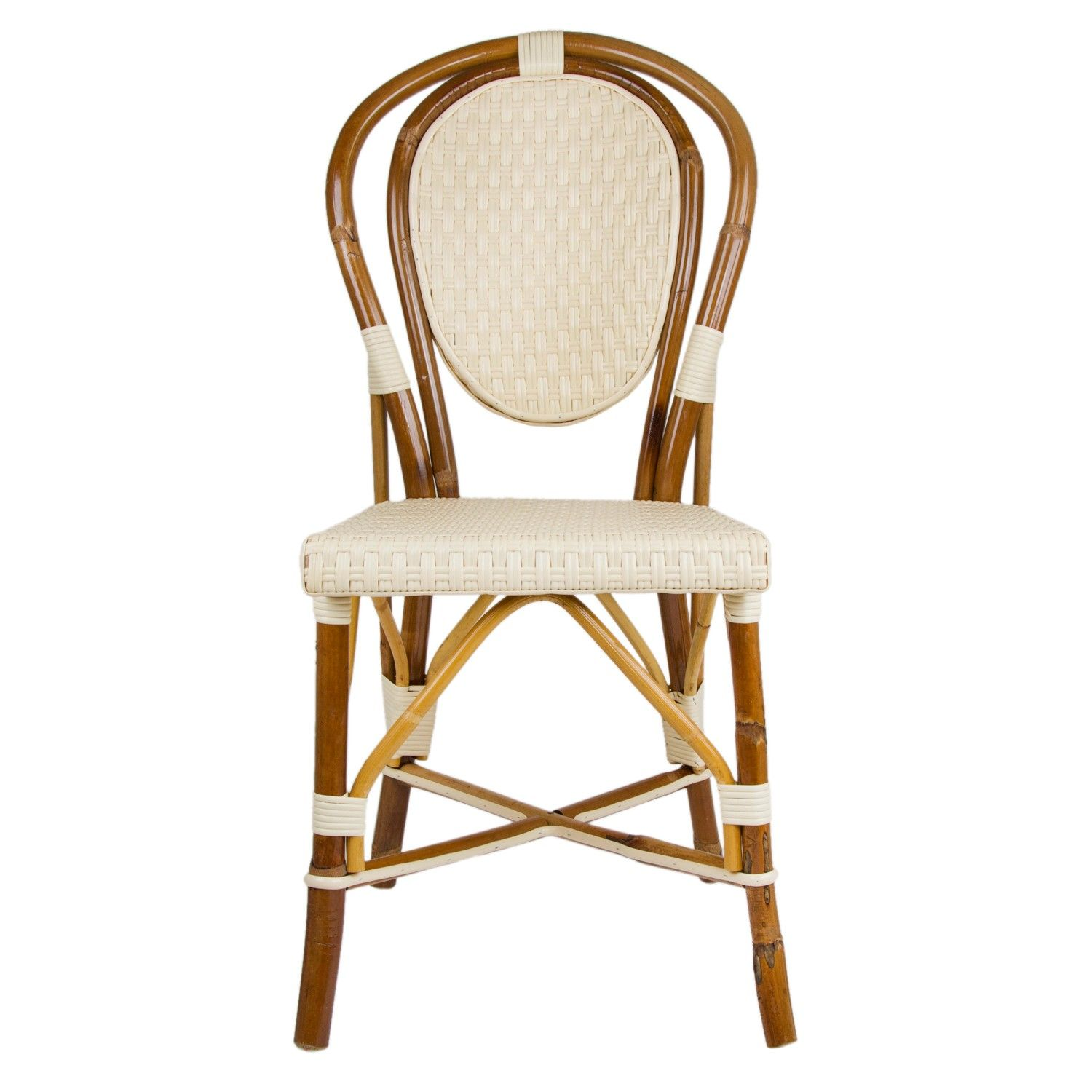 Bistro Chair Cream Mediterranean Bistro Chair B M And G Home