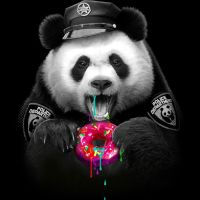 DONUT COP | Pandas | Pinterest | Donuts, Panda and Wallpaper