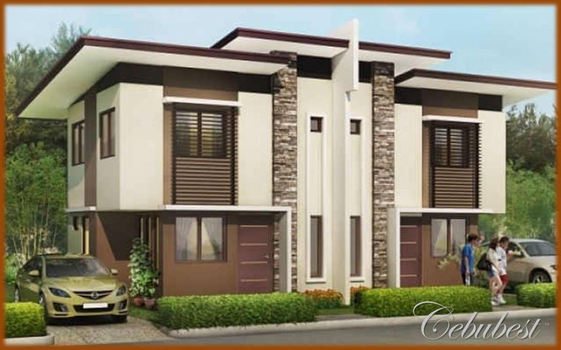 Modern Duplex House Design Philippines Modern House