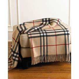 Burberry Throw Blanket Things For The Home Pinterest