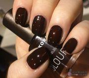 korres 69 dark brown nail polish