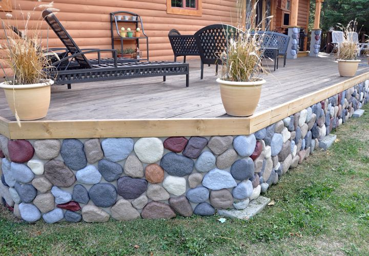 This Is A Example Mobile Home Skirting Vinyl Mobile Homes Ideas