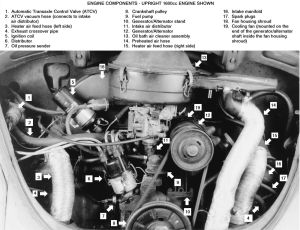 1972 Vw Beetle Engine Diagram Starter Vw Download Free