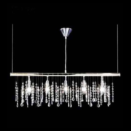 Within This Contemporary Collection No Two Chandeliers Are Identical The Mulude Of Crystal Shapes