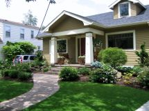 Ideas for Front Yard Landscaping Craftsman Style Homes