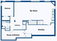 Finished Basement Floor Plans - http://homedecormodel.com ...