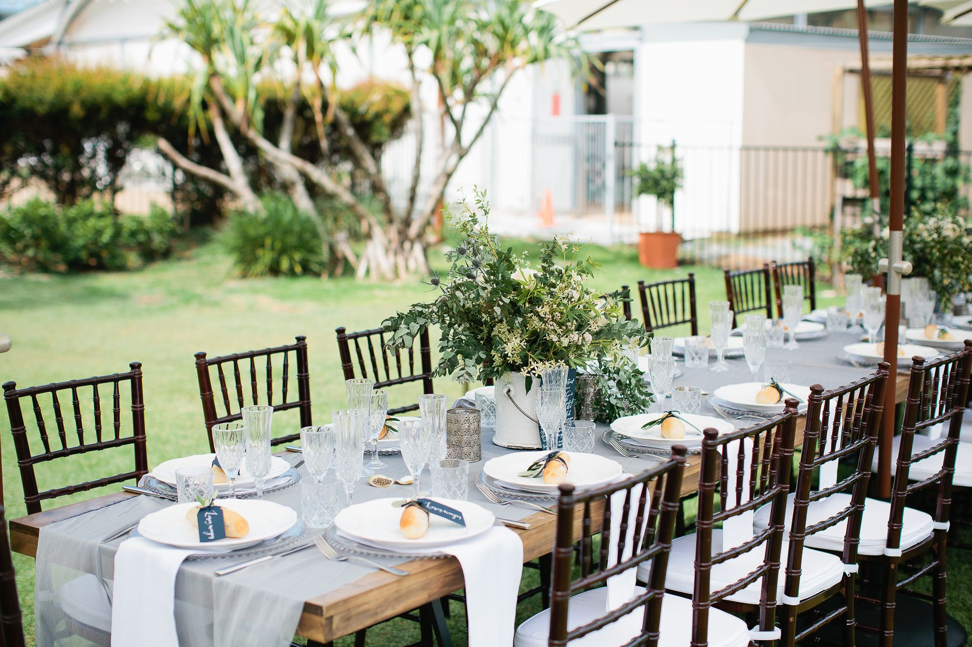 tiffany wedding chairs quest folding chair hampton event hire long wooden dining tables walnut