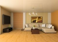 Home design, Warm Yellow Living Room Color With Deluxe ...