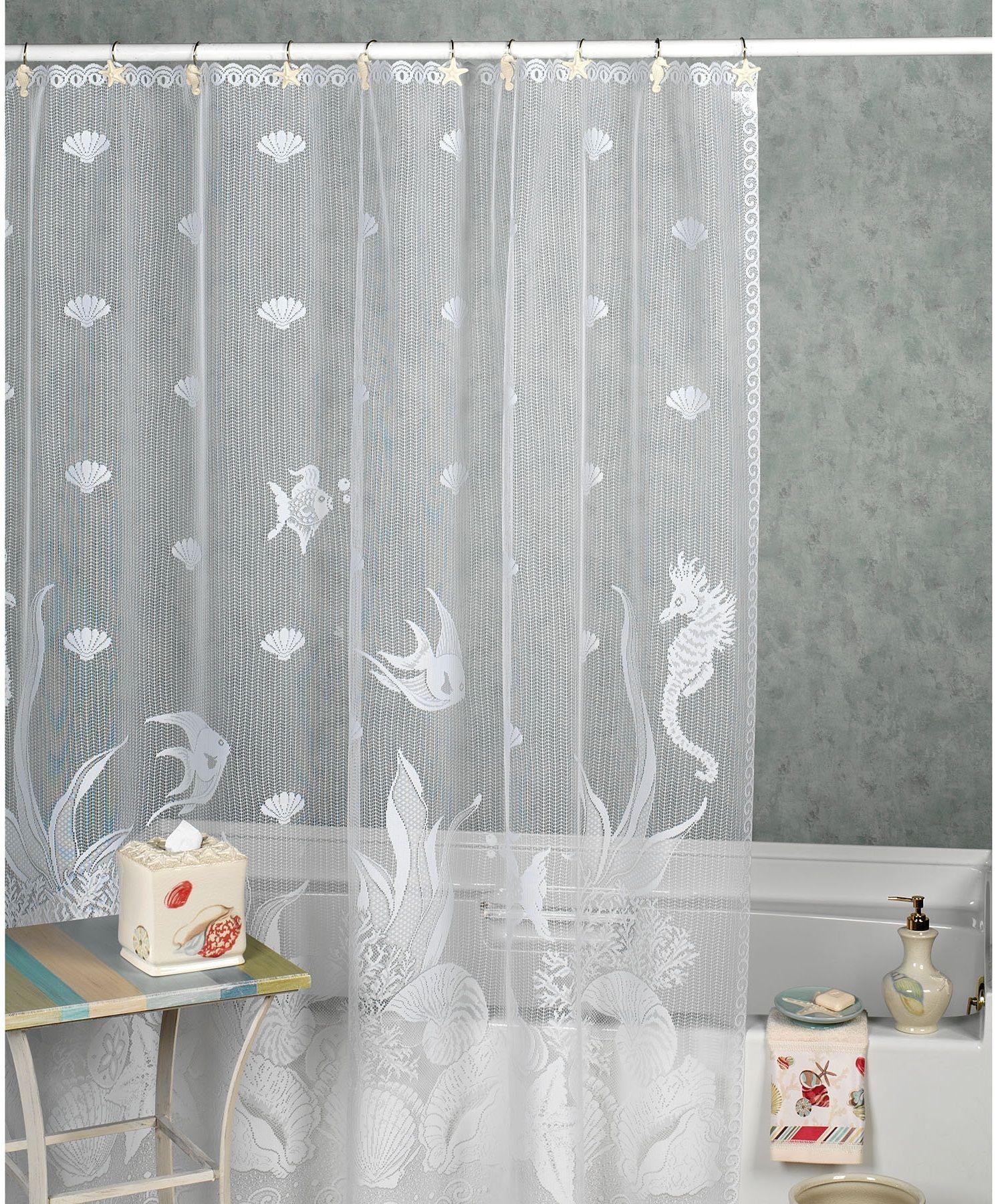 Exceptional Sheer Shower Curtain U003e 2 U003e White Sheer Shower