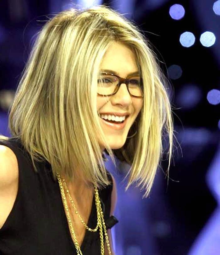 Frisuren Feines Haar Mittellang Mit Brille Frisuren Pinterest