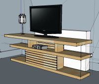 how to build a tv stand out of wood | OptiMalm Prime: Malm ...