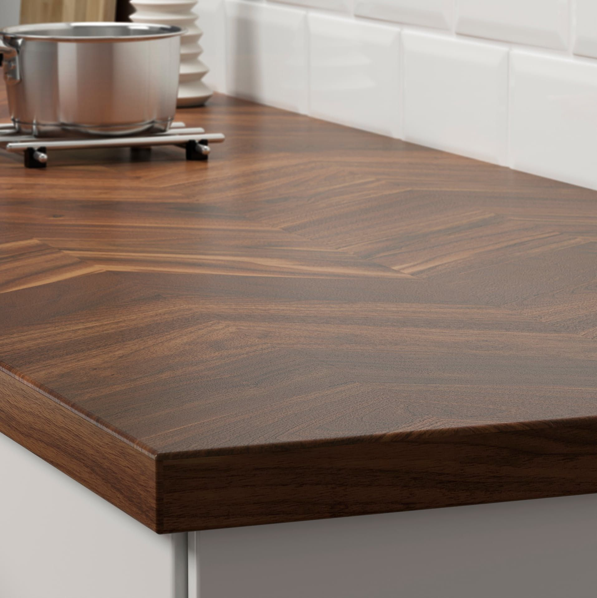 ikea kitchen counters faucet with pull out sprayer 9 barkaboda wood countertop hack and