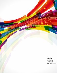 Dynamic colored abstract elements vector backgrounds also art abstracts rh pinterest