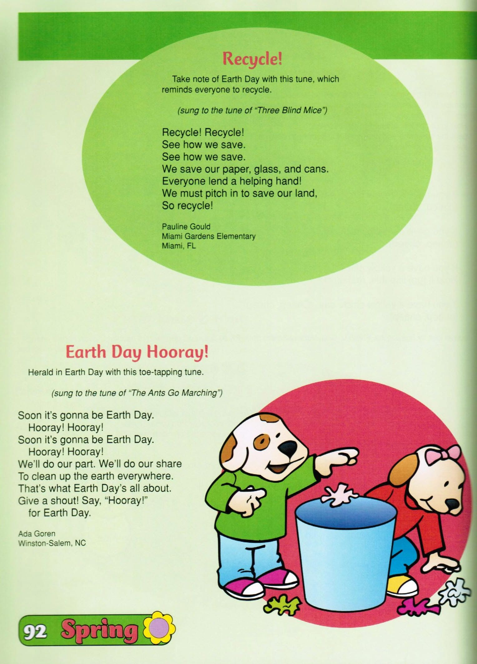 These Earth Day Songs Were Taken From Best Of The Mailbox