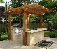 Outdoor Kitchen Shade Outdoor Kitchen Hamilton-Steele ...