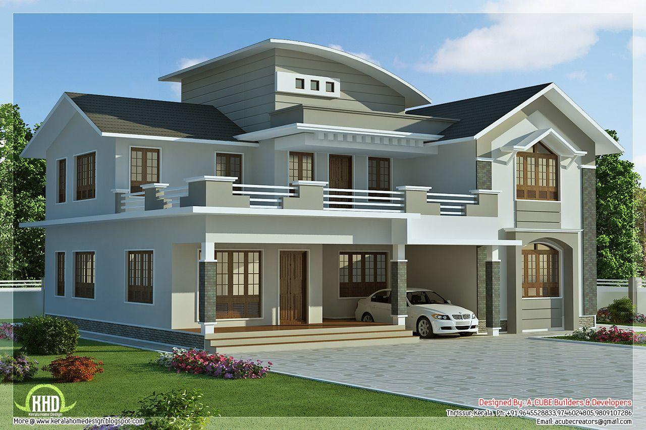 Sq Feet Bedroom Villa Design Kerala Home Design Floor Plans Home