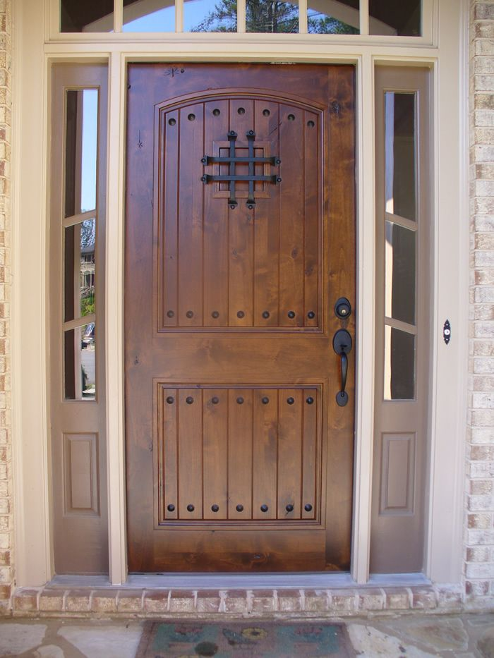 Front Door Modern Design In Dark Brown Loving Especially The