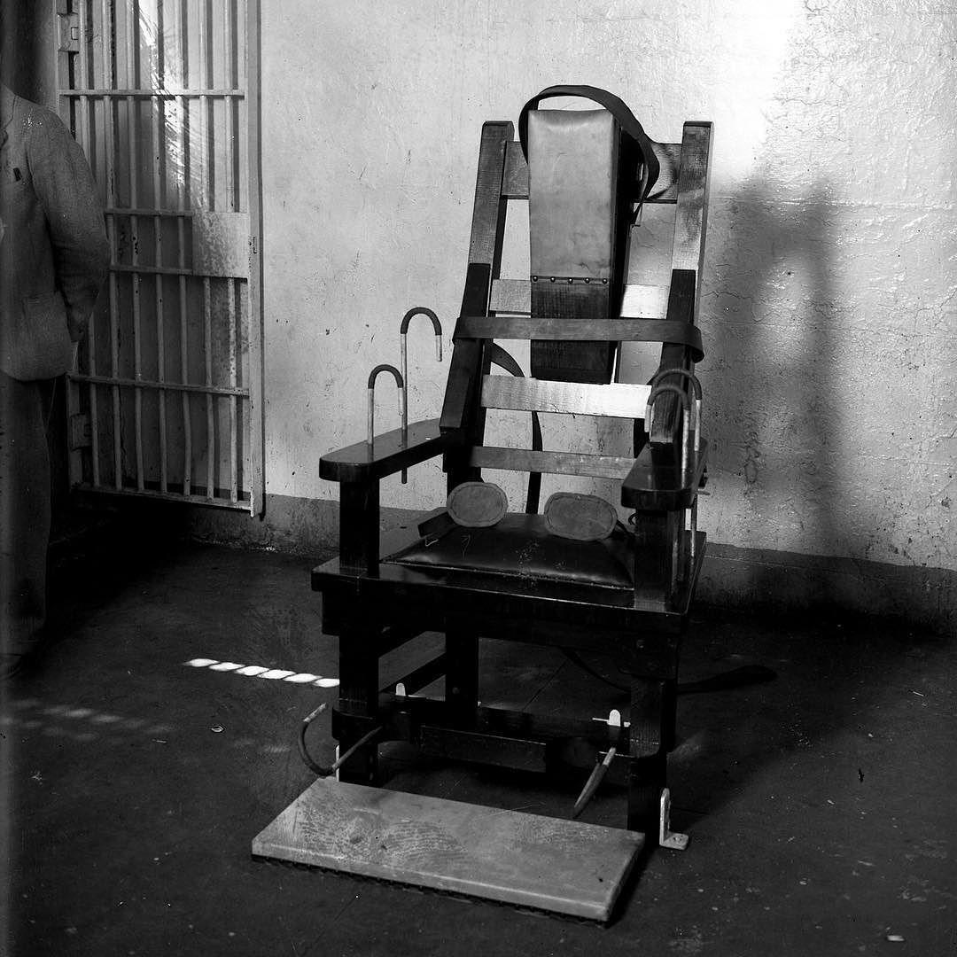 execution by electric chair in bedroom the is installed at cook county jail on aug
