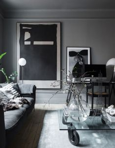The atmospheric home of  swedish interior designer also rh pinterest