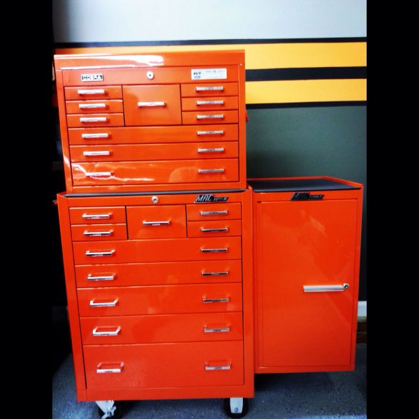 Custom Paint matched Cobra Mac Tool Box! GarageShop