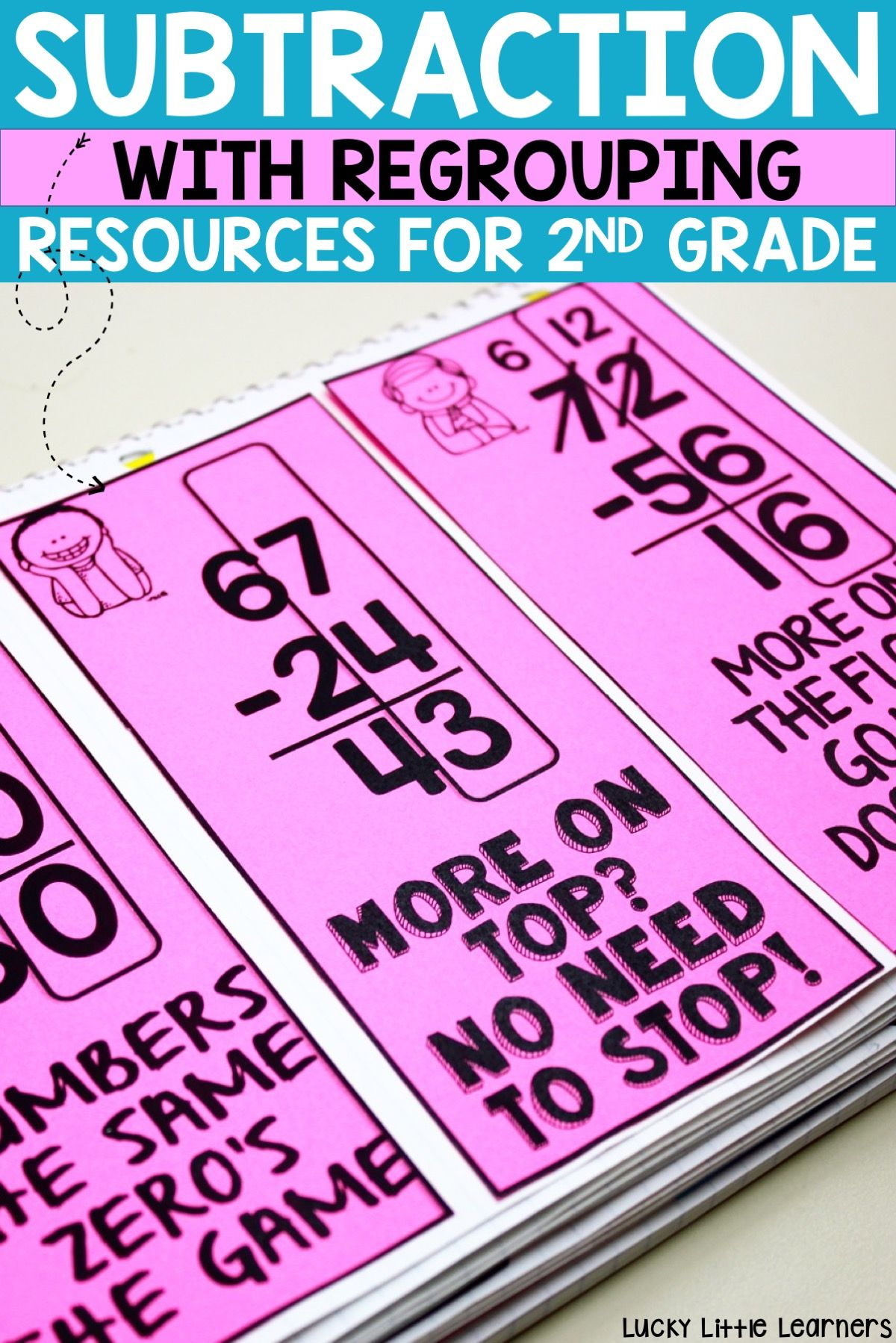 Everything You Need To Teach Subtraction With Regrouping In 2nd Grade