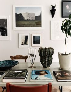 Gallery wall thecoveteur also interiors pinterest rh