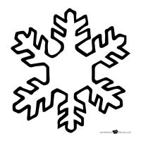 Plantillas De Copos De Nieve Para Imprimir Dibujos De Copos De