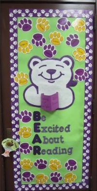 BEAR  Be Excited About Reading Door Decoration Idea ...