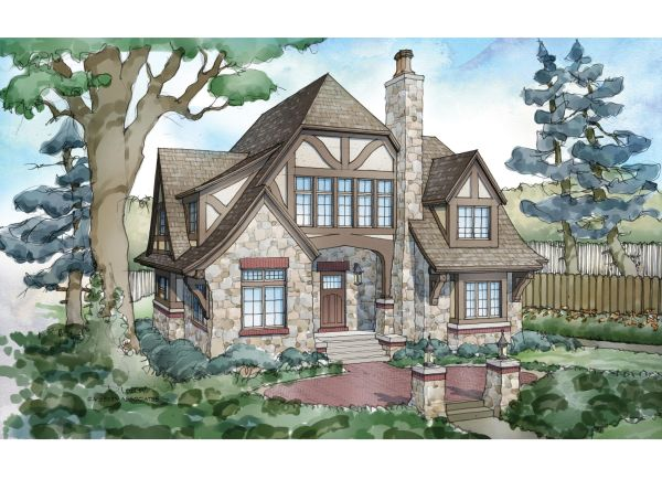 Eplans Tudor House Plan 5824 Square Feet And 5 Bedrooms