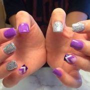 acrylic nail design 2016