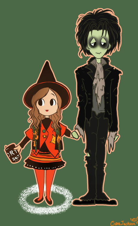 doublemaximusart Dani and Billy from Hocus Pocus I love