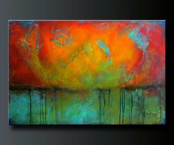 Abstract Acrylic Painting. Contemporary Wall Art. Painting