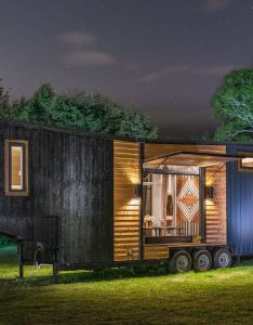 The jaw dropping escher tiny house on wheels by new frontier ho dream big live co also cato rd nashville tn print  dpig rh pinterest