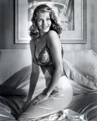 Image result for rita hayworth pin-up