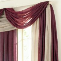 scarf valance | The New Master Bedroom! | Pinterest ...