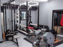 Rack for Home Garage Gym Ideas Weights